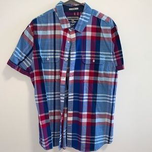 Express Men's Short Sleeve Button-Down
